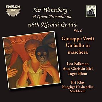 Siv Wennberg: A Great Primadonna, Vol. 6