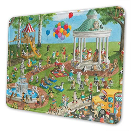 Pet Park Multi-Size Gaming Mouse Pads for Adults and Children are Suitable for Office, Gaming, and Learning 10 X 12 Inch