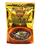 Santa Fe Bean Company Instant Fat Free Black Refried Beans 7.25-Ounce (Pack of 8) Instant Black Bean Refried Beans; All Natural; High in Fiber; Fat Free; Gluten-Free