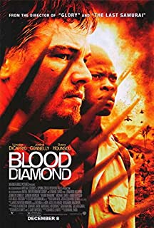 Blood Diamond POSTER Movie (27 x 40 Inches - 69cm x 102cm) (2006) (Style B)