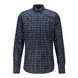 BOSS Mabsoot_1 10232585 01 Camisa, Dark Blue404, L para Hombre