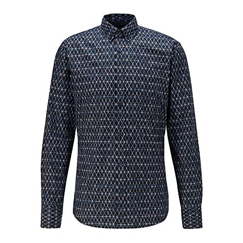 BOSS Mabsoot_1 10232585 01 Camisa, Dark Blue404, XL para Hombre