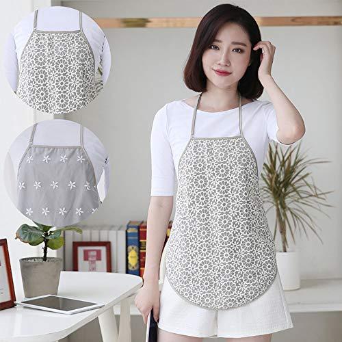 Pregnant Women Radiation Suit Fashion Anti-Radiation Maternity Sling Vest All Seasons Tank Apron Shield Clothes (B) Beige