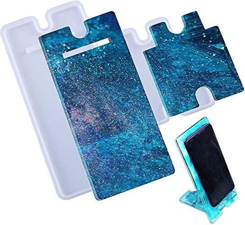 Soporte de teléfono celular moldes de resina, soporte de teléfono móvil, soporte...