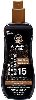 Australian Gold Spf 15 Spray Gel Bronzer, Fragrance: Cocoa Dreams, 237 Milliliters, brown