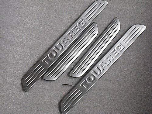 Preisvergleich Produktbild LSYBB 4 STÜCKE Verschleißplatte Edelstahl Einstiegsleisten Schutz Einsatz Für VW Touareg 2011-2017
