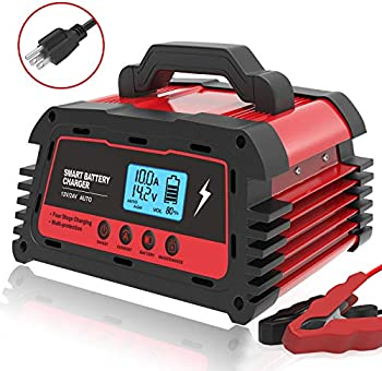 ATian 12V/20A 24V/10A Smart Fully Automatic Car Battery Charger