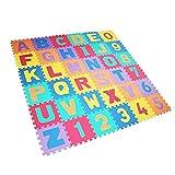 ISO TRADE 36tlg Puzzle Matte Spielmatte Spielteppich Kindertepich Schaumstoffmatte Eva Krabbelmatte 4693 -