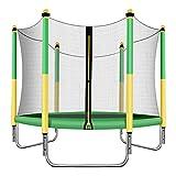 Trampolin-Set für Kinder, 5 Fuß, mit Springmatte mit Netz für das Haus und Federpolster,...
