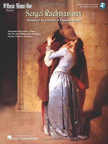 Rachmaninov - Rhapsody on a Theme of Paganini: Music Minus One Piano