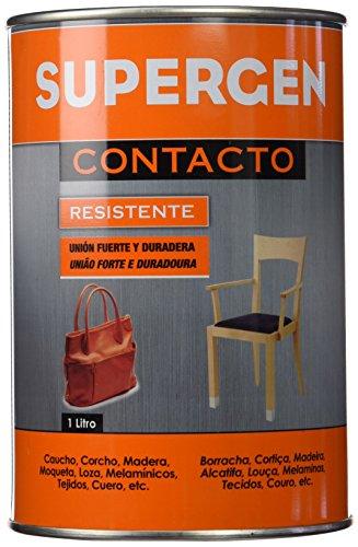 TESA TAPE 14020006 Pegamento Supergen Clasico 1000 ml, Amarillento, 1L