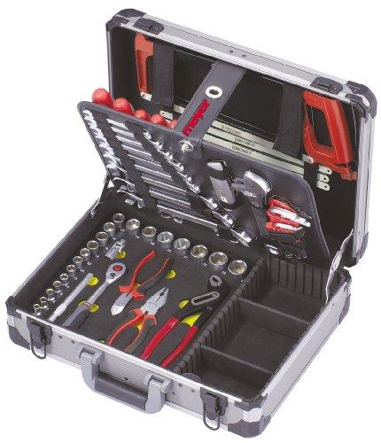 Aluminium-Werkzeugkoffer MECHATRONIK 52-teilig in Industriequalität