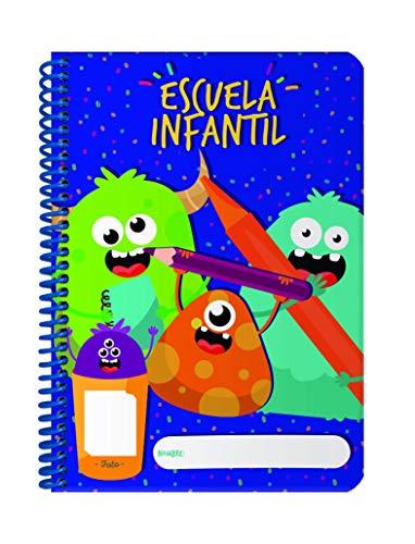 Agenda Infantil perpetua Azul - Día Pagina 232 Paginas -...