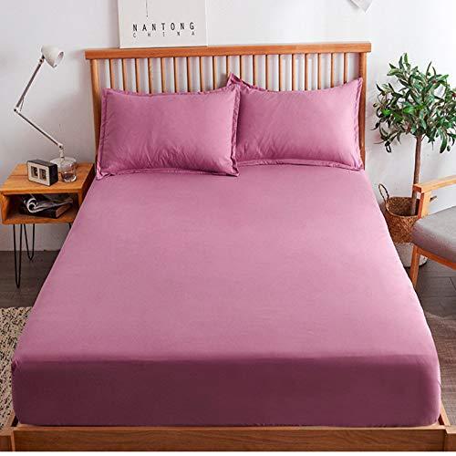 haiba Protector de colchón impermeable antialérgico, 120 cm x 200 cm + 25 cm