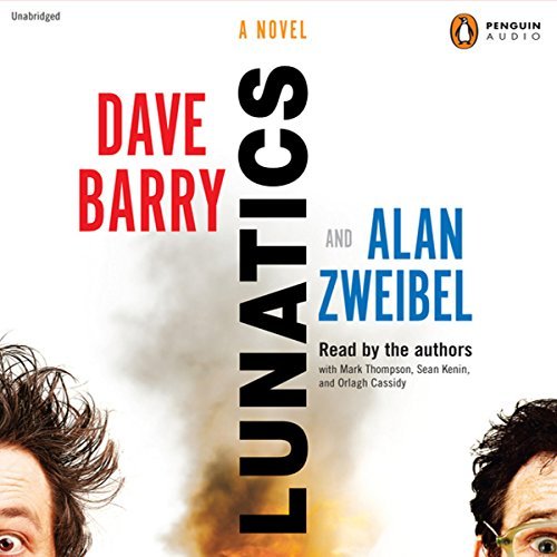 Lunatics audiobook cover art