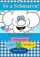 So a Schmarrn! Bairische Mundart (Wandkalender 2022 DIN A2 hoch): Bairische Redensarten mit Uebersetzung (Planer, 14 Seiten )