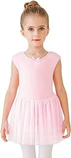 STELLE Girl's Sweetheart Neckline Tank Top Tutu Dress Leotard for Dance/Gymnastics/Ballet(Toddler/Little Girls/Big Girls)