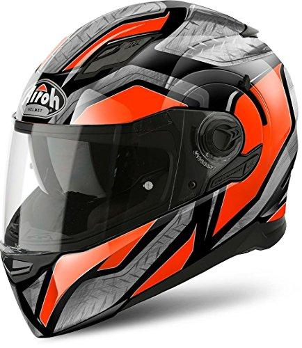 Airoh Helm Movement S Steel Orange Gloss Xl