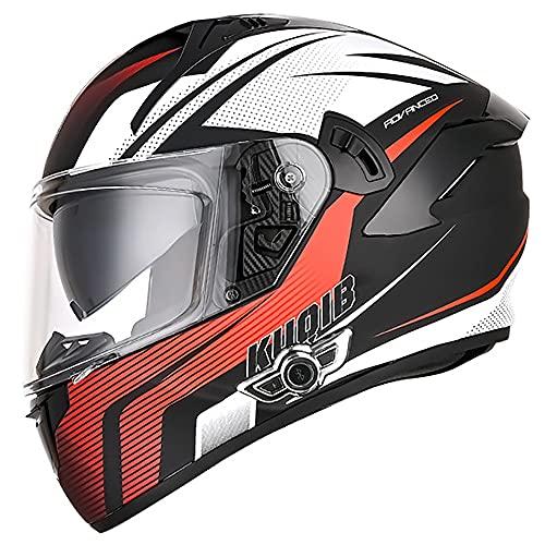 Letetexi Casco Moto Integral Modular Bluetooth Integrado Casco de Moto ECE Aprobado Casco Scooter con Doble Visera Anti Vaho para Hombre y Mujer Casco de Motocicleta para Adultos 55~64cm