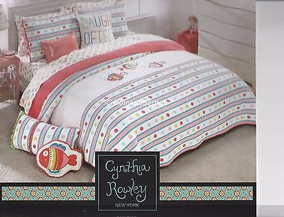 Cynthia Rowley New York Bubble Fish Quilt - Full/Queen