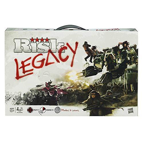 Risk Legacy - Strategisch spel - Een nieuwe, innovatieve uitgave van het klassieke bordspel - Voor de hele Familie - Taal: Nederlands