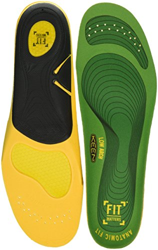 KEEN Utility Men s K-30 Gel Insole for Flat Feet with Low Arches Accessories  Green  L Regular US