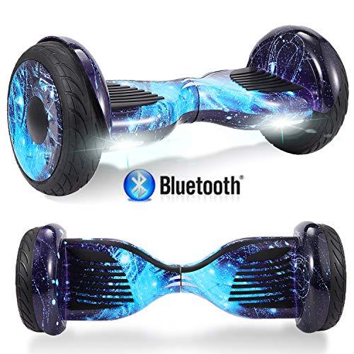 Windway Hoverboard 10'' Patinete Eléctrico Bluetooth Monopatín Scooter autobalanceado, Ruedas de Skate...