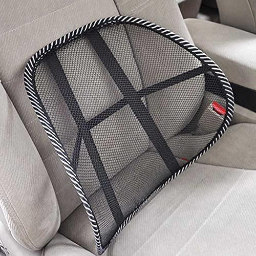 SXHNNYJ Autositz Bürostuhl Massage Rücken Lendenwirbelstütze Mesh Ventilate Kissen Pad Mesh Rücken Lendenkissen