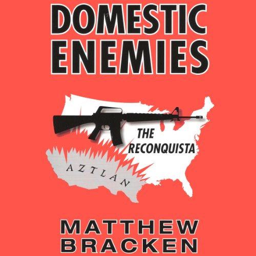 Domestic Enemies: The Reconquista audiobook cover art