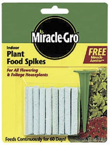 Miracle Gro Indoor Plant Food Spikes product image