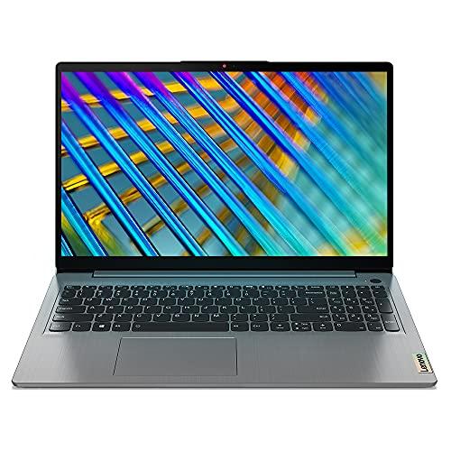 "Lenovo IdeaPad Slim 3 2021 11th Gen Intel Core i3 15.6"" (39.62cm) FHD IPS Thin & Light Laptop (8GB/512GB SSD/Windows 10/MS Office/2 Year Warranty/Arctic Grey/1.65Kg), 82H801FKIN"