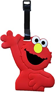 Sesame Street Elmo Travel Baggage Luggage Tags For Suitcase, Bags, Bagpack, Lunch Bag