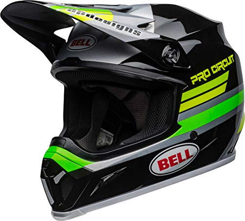 BELL Motocross-Helm MX-9 MIPS Schwarz Gr. M