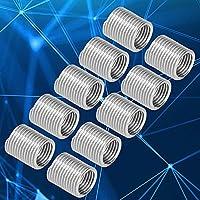 ねじ山低減ナット、ねじ山は工業用品用のステンレス鋼ねじ山低減ナットを挿入します(2D)