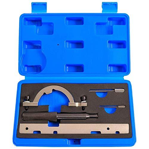 5 tlg. OPEL Arrtierwerkzeugsatz Steuerkette Werkzeug Arretierung Nockenwellen Lineal Opel Astra / Corsa B & C / Combo / Tigra B / Meriva / Agila COEAW-14