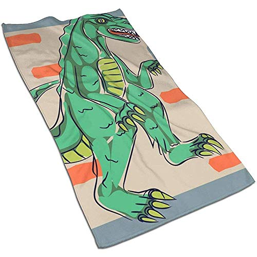 Dino Monster microvezel handdoek handdoeken 27,5 x 17,5 inch