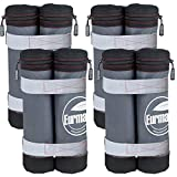 Eurmax New Weight Ez Pop Instant Canopies Shelter Bags Without Sand, Set of 4