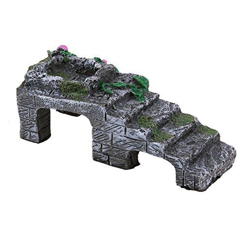 FairOnly Huisdier Basking Platform Hoek Ramp Speelgoed voor schildpad Reptielen Slang Aquarium Decoratie Creatief Leven, L