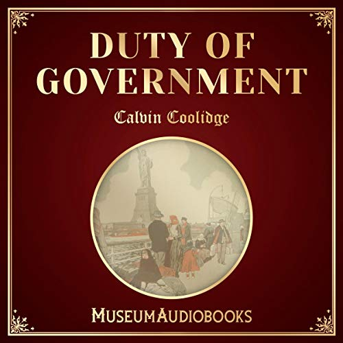 Duty of Government audiobook cover art