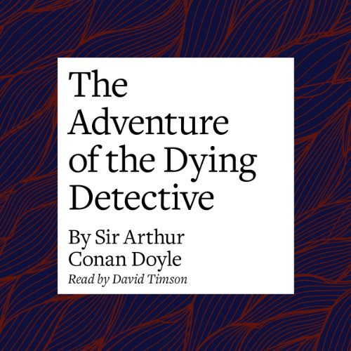 The Adventure of the Dying Detective copertina