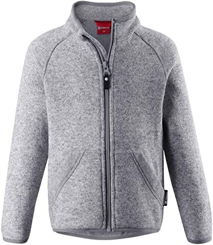 Reima Hopper Fleece Sweater Kinder Melange Grey Kindergröße 128 2020 Jacke