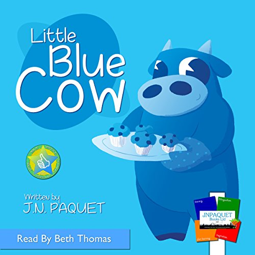 Little Blue Cow audiobook cover art