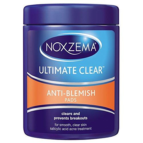 Noxzema Ult-Clear Anti-Blemish Pads 90 Count (3 Pack)