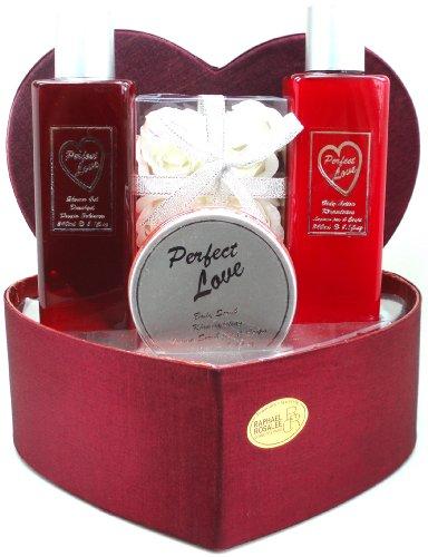 Raphael Rosalee Cosmetics Geschenkset Perfect Love Nr. 1, Rose (4-teilig)
