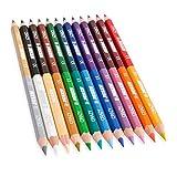 Jolly Superstick Crazy Buntstifte Farbstifte | 24 Farben mit 12 Farbstiften | Kinderfest und...
