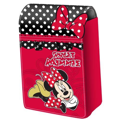 Exclusieve Minnie Mouse mobiele telefoon tas compacte camera tas lakleder look