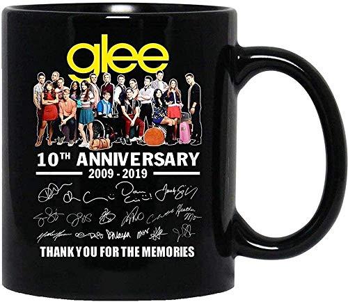 N\A #Glee 10th Anniversary All CasSigned Gracias por los Recuerdos Tazas Divertidas de café y té Tazas