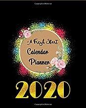 A Fresh Start Calendar Planner 2020