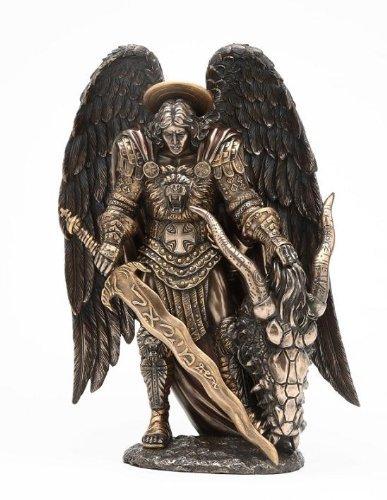 St. Michael und der Drache Erzengel Statue St. von PTC