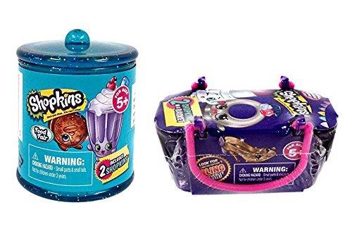 Shopkins Exclusive Blind Basket Bundle: 1 Food Fair Basket & 1 Fashion Spree Basket
